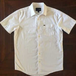 Hurley White Shirt Size Small